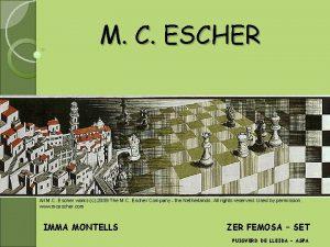 M C ESCHER All M C Escher works