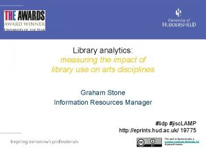 Library analytics measuring the impact of library use