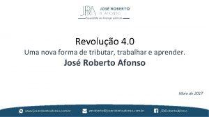 Especialista em finanas pblicas Revoluo 4 0 Uma