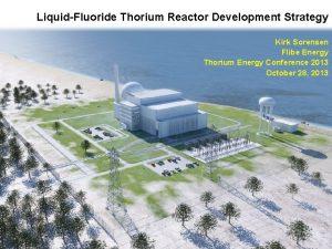 LiquidFluoride Thorium Reactor Development Strategy Kirk Sorensen Flibe