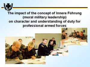 The impact of the concept of Innere Fhrung