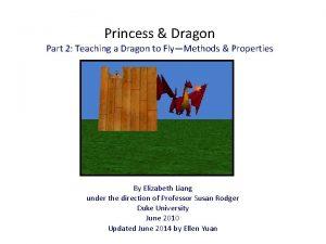 Princess Dragon Part 2 Teaching a Dragon to