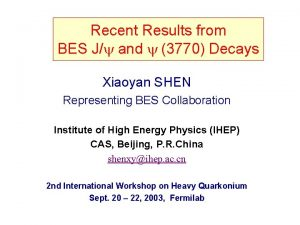 Recent Results from BES J and 3770 Decays