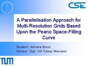 A Parallelisation Approach for MultiResolution Grids Based Upon