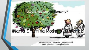 Quieres ser millonario Mara Cristina Rosero Jimnez 1