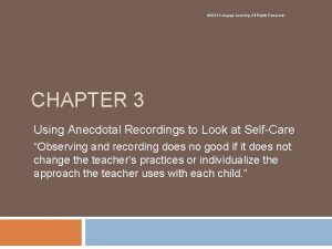 2014 Cengage Learning All Rights Reserved CHAPTER 3