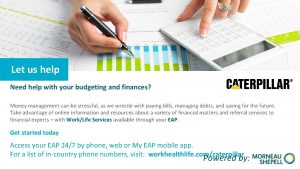 Let us help Need help with your budgeting