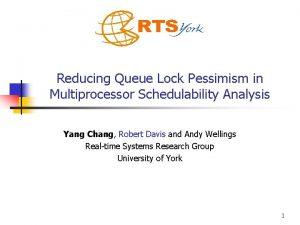 Reducing Queue Lock Pessimism in Multiprocessor Schedulability Analysis