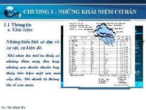 CHNG 1 NHNG KHI NIM C BN 1