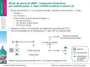 tude de phase III UNIFI traitement dinduction par