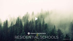 1 RESIDENTIAL SCHOOLS MODULE 05 The Mohawk Institute