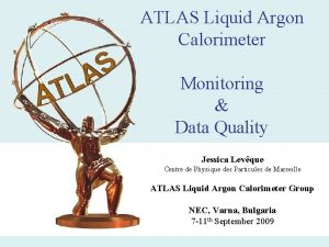 ATLAS Liquid Argon Calorimeter Monitoring Data Quality Jessica