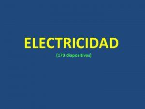 ELECTRICIDAD 170 diapositivas BOLETN OFICIAL DEL ESTADO Sbado
