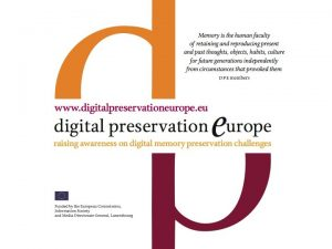 Vision What is DPE Digitalpreservationeurope DPE intends to
