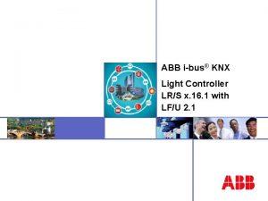 ABB ibus KNX ABB STOTZKONTAKT Gmb H Folie