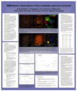 XMMNewton observations of two candidate supernova remnants 1