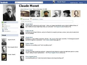 Claude Monet Lives in Giverny France Born on