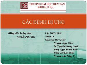 CC BNH D NG Ging vin hng dn