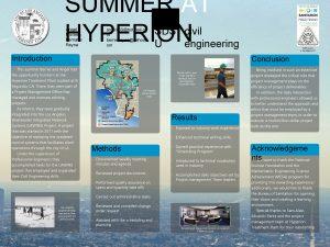 SUMMER AT SDS civil HYPERION U engineering Angel