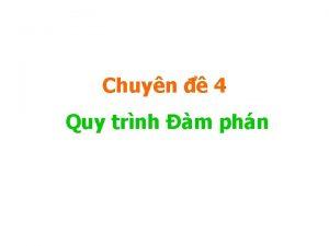 Chuyn 4 Quy trnh m phn O Ch