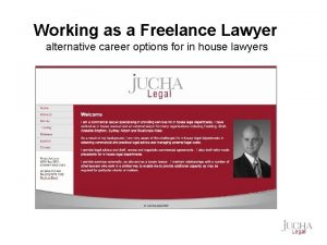 Working as a Freelance Lawyer alternative career options