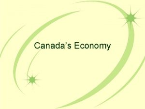 Canadas Economy Economy Review What do you know