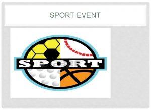 SPORT EVENT SPORT EVENT Single event Multi Event
