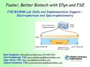 Faster Better Biotech with Ellyn and FSEBS 4
