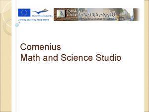 Eating Habits Comenius Math and Science Studio Eating
