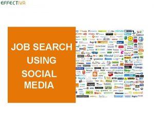 JOB SEARCH USING SOCIAL MEDIA Define Social Media