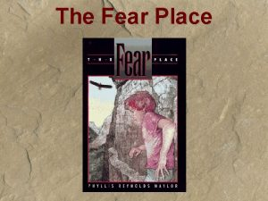 The Fear Place Give It All Youve Got
