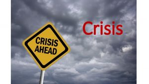 Crisis Thesis Living in a state of crisis