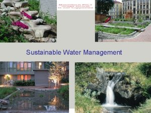 seecon gmbh society economy ecology consulting Sustainable Water