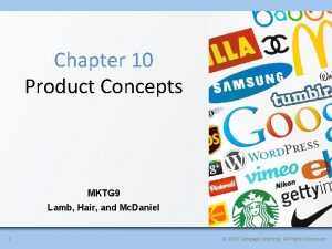Chapter 10 Product Concepts MKTG 9 Lamb Hair