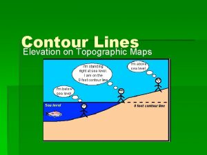 Contour Lines Elevation on Topographic Maps What is