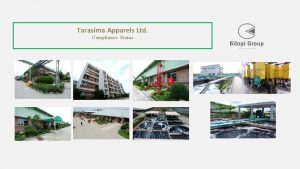Tarasima Apparels Ltd Compliance Status CERTIFICATION STATUS SL