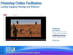 Mastering Online Facilitation Leading Engaging Meetings and Webinars