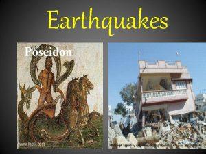 Earthquakes Poseidon Earthquakes Worldwide Earthquakes Since 1900 Where