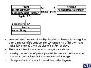 Flight flight No Integer available Seats Integer flights