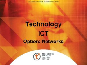 Technology ICT Option Networks Networks Networking sharing information