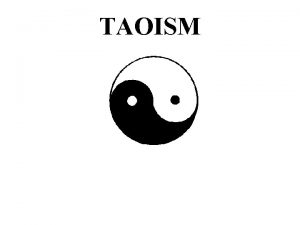 TAOISM GLOBAL VIEW OF CHINA CONTINENT VIEW OF