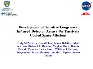Development of Sensitive Longwave Infrared Detector Arrays for