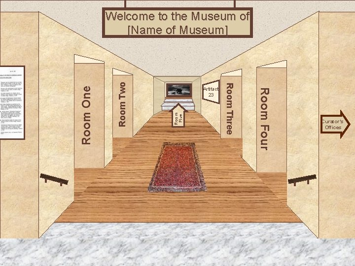 Room Two Room Five Museum Entrance Room Four