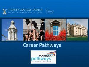 Career Pathways Career Pathways Individualised transition planning service