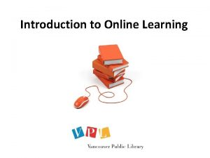 Introduction to Online Learning Introduction to Online Learning