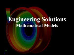 Engineering Solutions Mathematical Models Engineering Solutions n n