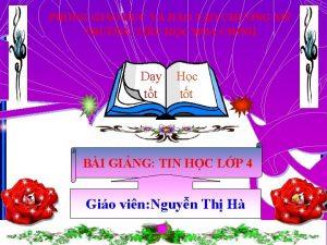 PHNG GIO DC V O TO CHNG M