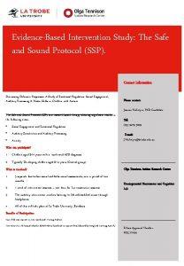 EvidenceBased Intervention Study Safe Insert title of study