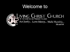 Welcome to Holy Is The Lord Holy Is