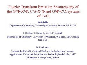 Fourier Transform Emission Spectroscopy of the G 3
